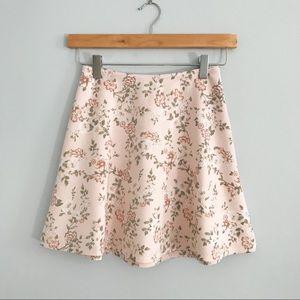 Forever 21 // Floral Skirt
